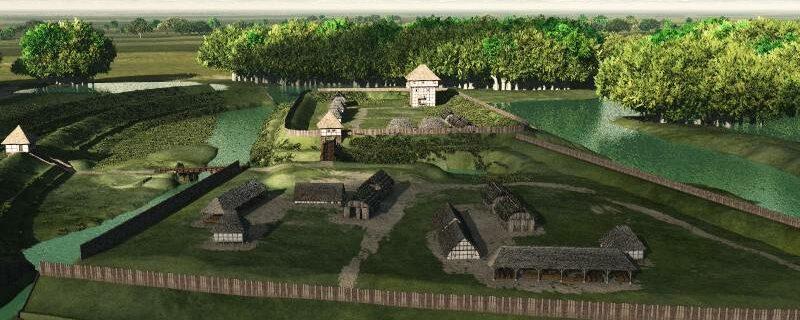 Rekonstruktion der Bumannsburg, Sommerreise (2010)